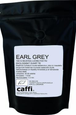 Musta tee Earl Grey